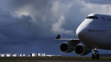 All change: By 2033, the airport is projected to handle 74.3 million passengers.