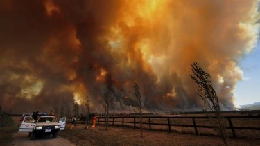 Bushfires raged on Black Saturday, 2009.