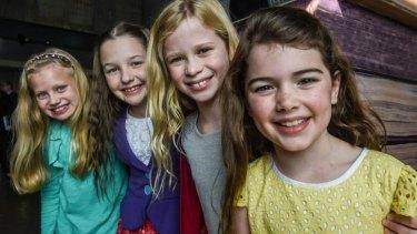 Meet your Matildas: Georgia Taplin, Bella Thomas, Sasha Rose and Molly Barwick.