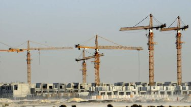 Dubai's property bubble burst spectacularly and D17 remains nothing but a block of desert sand.