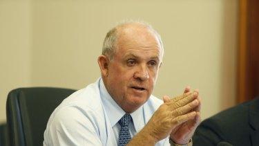 Nationals senator John Williams wants better scrutiny of the big banks.
