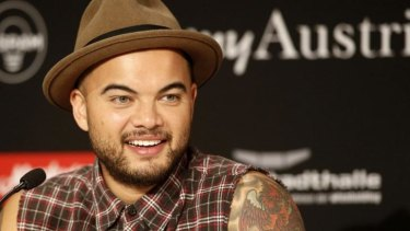 'He's handing them out, willy nilly' ... Guy Sebastian jokes that a win could earn him a knighthood from Tony Abbott.