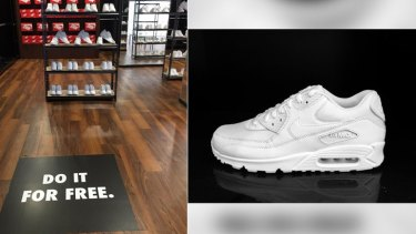 The City of Perth is giving out free Air Maxes...all in the name of art.
