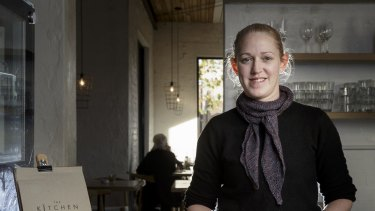 Lisa Wearmouth, who manages the cafe within South African furniture store Weylandts.