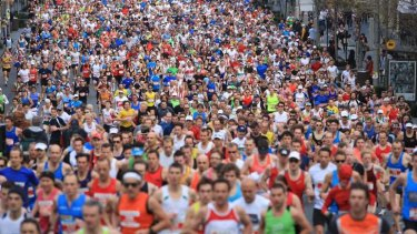Busy morning: The City2Surf will attract about 85,000 runners and walkers to the city next weekend.