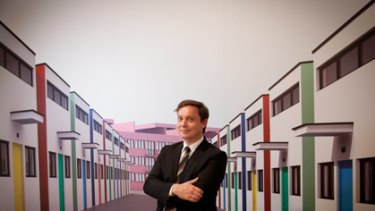 Director of Brisbane's Gallery of Modern Art, Tony Ellwood.