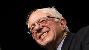 Democratic presidential candidate Senator Bernie Sanders had a surprise win on Tuesday.