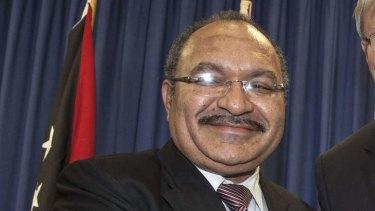 Papua New Guinea's Prime Minister Peter O'Neill.
