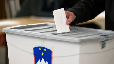 Slovenians voted on Sunday in a presidential election that could be a scene-setter for next year's parliamentary polls.