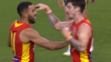 Alex Sexton's smart finish saves what looked like a lost cause for the Gold Coast