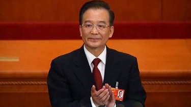 Wen Jiabao: his daughter allegedly received a salary from JPMorgan.