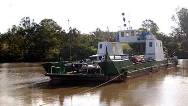 The Moggill ferry's days cound be numbered in the wake of last month's floods.