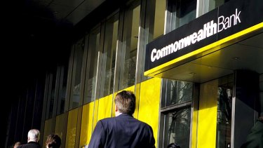 """Commonwealth Bank ... Borrowing rates to drop 40 basis points, but deposit rates remain """"under review""""."""