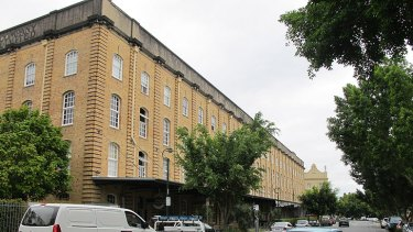 Another of Teneriffe's historic woolstores buildings, home to apartments and businesses.