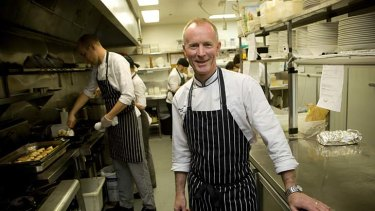 Restaurant II chef and owner David Pugh.