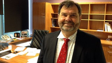 Queensland's new chief justice Tim Carmody.