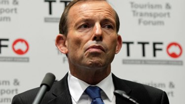 A  blunder of the first order: Tony Abbott.