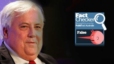 Clive Palmer's tax policy won't work in the real world.