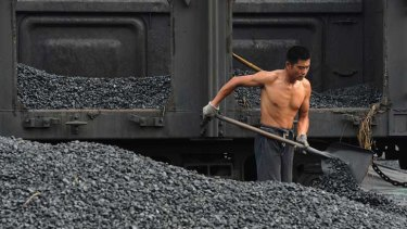 Chinese coal has dropped to the lowest level since 2009.