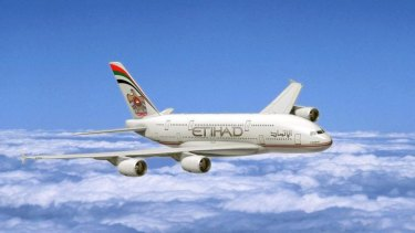 Growth prospects: Etihad will begin flying A380 superjumbos between Sydney and Abu Dhabi next year, and increase capacity by replacing some other services with larger planes.