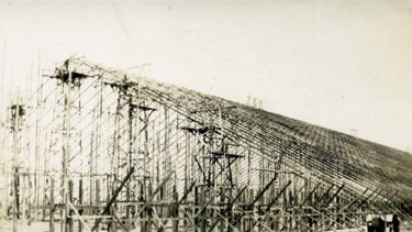 The Stick Shed was finished by 1941.