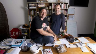 Curiouser and curiouser: 20 Questions host Wesley Enoch and co-deviser Eamon Flack.