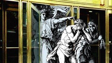 Artwork by Robin Cowcher. Digitally altered from an engraving by Julius von Carolsfeld.