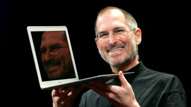 The late Apple co-founder Steve Jobs, pictured in 2008, described taking LSD as a 'profound experience'.