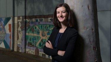 Ellen Sandell, Greens candidate for Melbourne.
