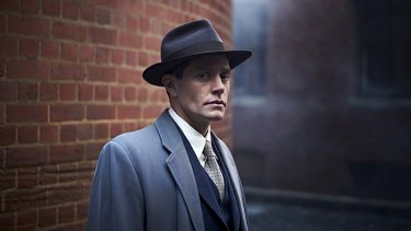 Another era: Nathan Page is Detective John Robinson in <i>Miss Fisher's Murder Mysteries.</i>