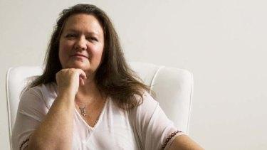 Accused of dishonesty … Gina Rinehart.