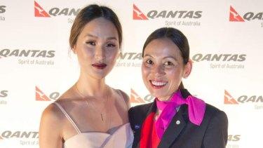 Nicole Warne is Qantas' latest employee.