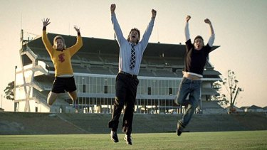 Toyota has used jumps in ads featuring its 'Oh, What a Feeling!' slogan for about 30 years.