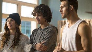 Briana Evigan, Adam Sevani and Ryan Guzman, in <i>Step Up All In</i>.