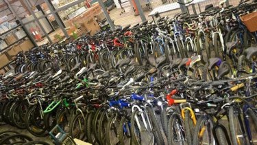 Need a new bike? The police auctions are a great place to grab a bargain.