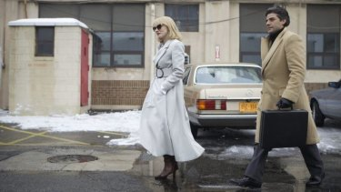 Jessica Chastain and Oscar Isaac in J.C. Chandor's <i>A Most Violent Year</i>.