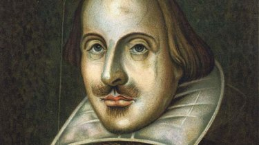 Tough negotiator: William Shakespeare. Academics say the Bard was a ruthless businessman who grew wealthy dealing in grain during a time of famine.