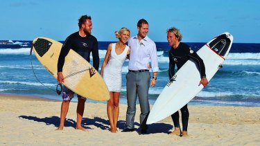 Lorraine Murphy and Wade Tink chose to tie the knot in Bondi, thousands of miles from family in the UK and Ireland.