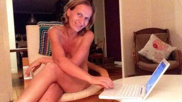 Author Sam Leader takes advantage of the benefits of working at home.