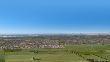 Villa World's 273-lot subdivision in Plumpton, in Melbourne's north-west.