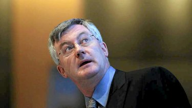 Political fodder ... Treasury secretary Martin Parkinson's days are numbered.