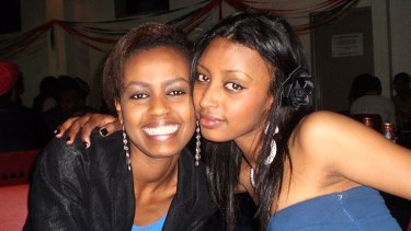 Sisters Seble and Maz Getachew were killed in a bus crash in Ethiopia on Tuesday, January 17, 2012.