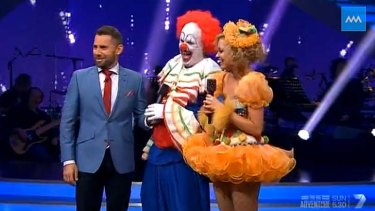 Mark Holden has apologised for his performance on Dancing with the Stars.