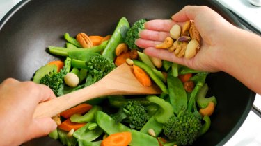 Versatile ... add nuts to cooked dishes for extra flavour and nutrients.