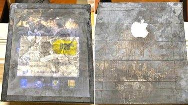 Fake wooden iPad sold to a South Carolina woman.