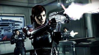 A screenshot from <em>Mass Effect 3</em>.