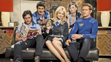 The Danger 5 set out to combat Hitler using little but a comic '60s sensibility.