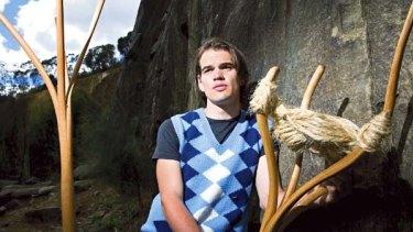 Tasmanian furniture designer Duncan Meerding.