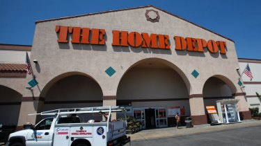 Home Depot has an estimated 20 per cent of the online do-it-yourself market in the US.