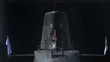 Submarine HMS Astute.